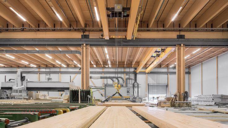 Nordic Structures | nordic.ca | Bois d'ingénierie | Projets | Réalisations | Usine des Chantiers Chibougamau