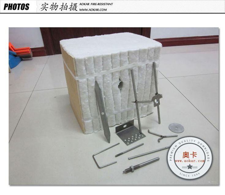 Thermal Insulation Ceramic Fiber Moudle Refractory
