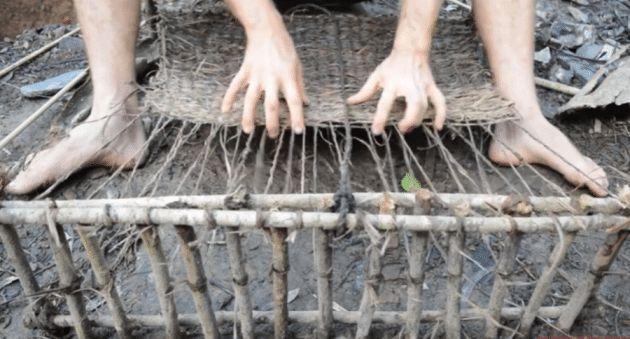 Primitive Technology: Weaving Bark Fiber Mats - Wide Open Spaces