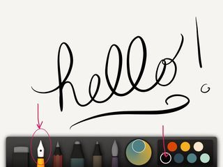 Tutorial on creating your own Photoshop brushes from IPad sketches in Paper 53