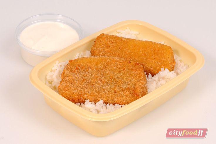 Péntekre: Rántott mozzarella, jázmin rizs, tartármártással  http://www.cityfood.hu/ebed-hazhozszallitas/etlap-cityfood-ebed-rendeles