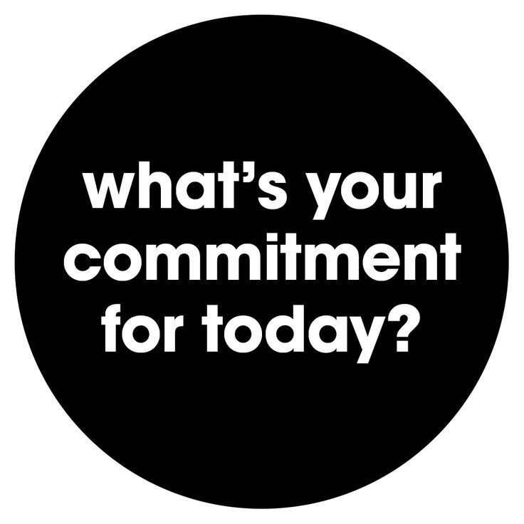 Share your whil to - your daily commitment.