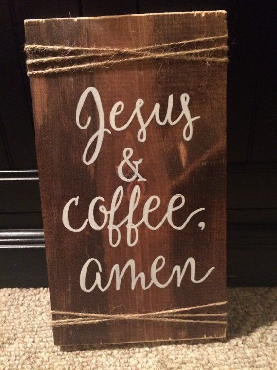 Rustic wood wall decor,features a fun quote on a wood sign, makes for a great gift! This is how I feel in the daily! Cant live life without…