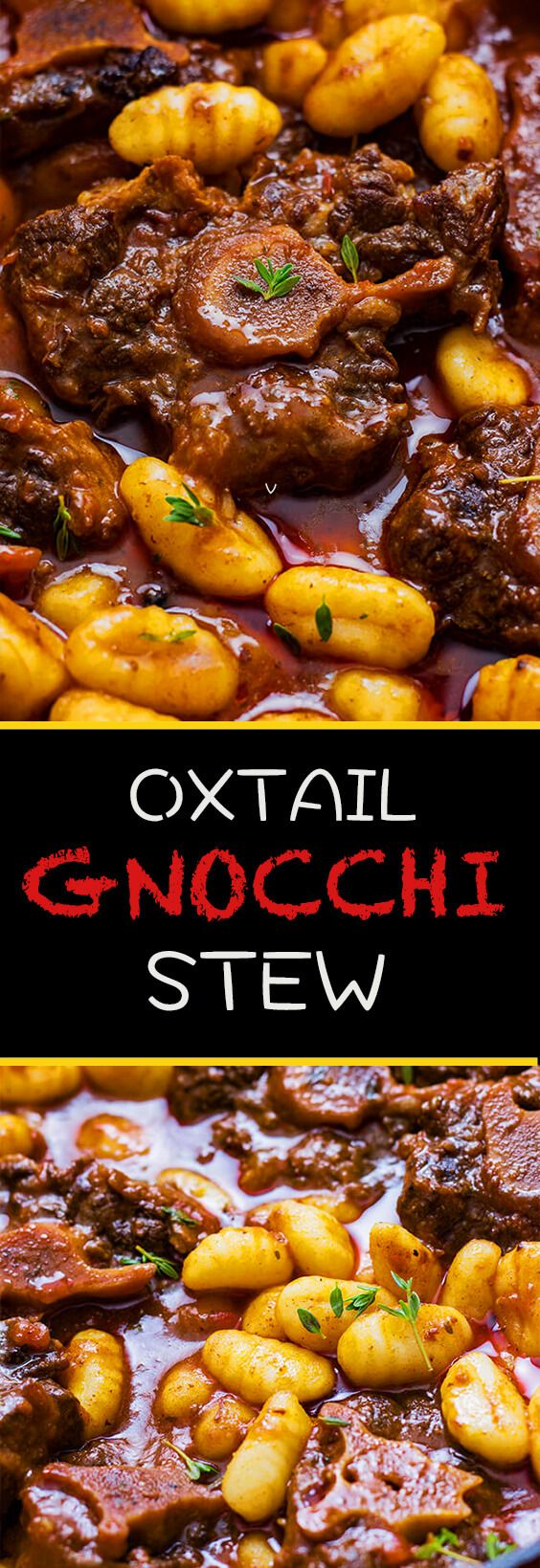 This oxtail gnocchi stew is the perfect beef stew. It is rich and indulgent and also very flavorful. Make it today!