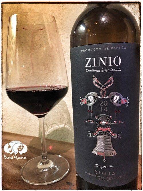 Score 89+/100 Wine review, tasting notes, rating of Zinio Vendimia Seleccionada Tempranillo Rioja. Description of aroma, palate, flavor. Join the experience.