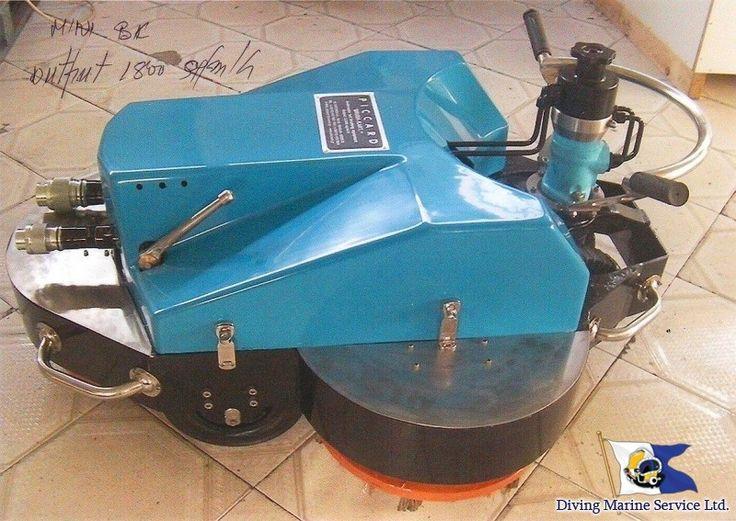 Brush-Kart See more: http://diving-ms.com.ua/en/articles/101-hull-cleaning-using-brush-kart-system