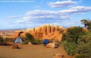 Stunning Devils Garden Campground Campsites At Arches National Park - good info