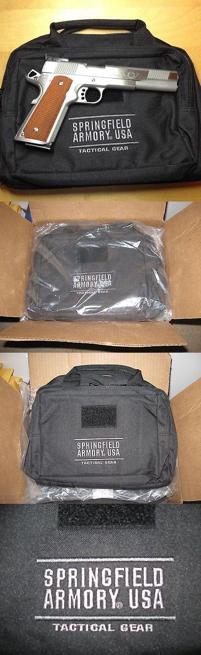 Range Gear 177905: Springfield Armory Dual Pistol Range Bag Tactical Gear Revolver Handgun 1911 9Mm BUY IT NOW ONLY: $38.0