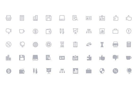 The Elegant Icon Font - 360 free icons