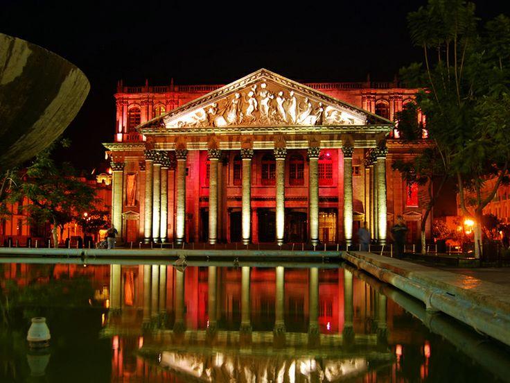 Teatro Degollado, Guadalajara.