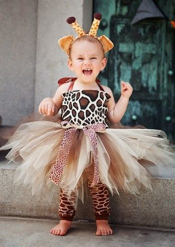 Little Giraffe Halloween Birthday Tutu Costume | HolidayBabyBoutique - Clothing on ArtFire