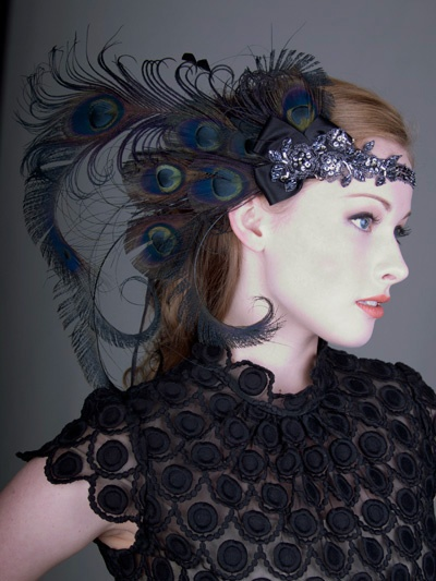 I'm looking around for 1920's inspired stuff for a Gatsby Christmas party I'm attending - I love this!