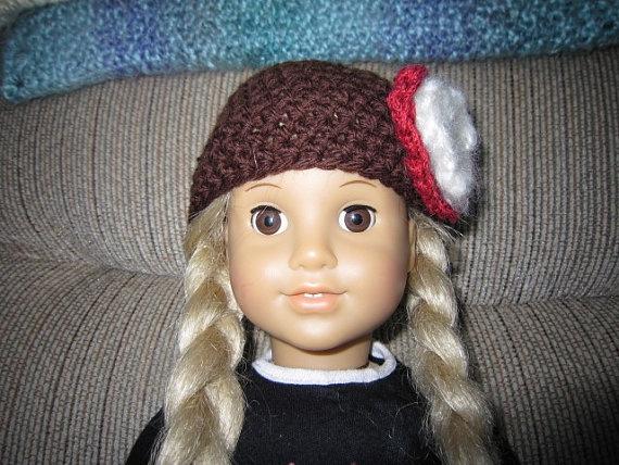 American Girl doll hatCrochetedperfect for by disneymomma on Etsy, $10.00