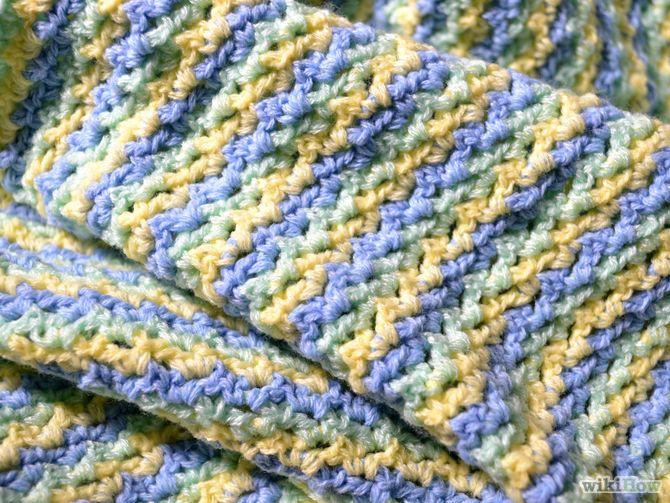 Crochet a baby blanket blanket crochet and babies - Mantas de ganchillo faciles ...