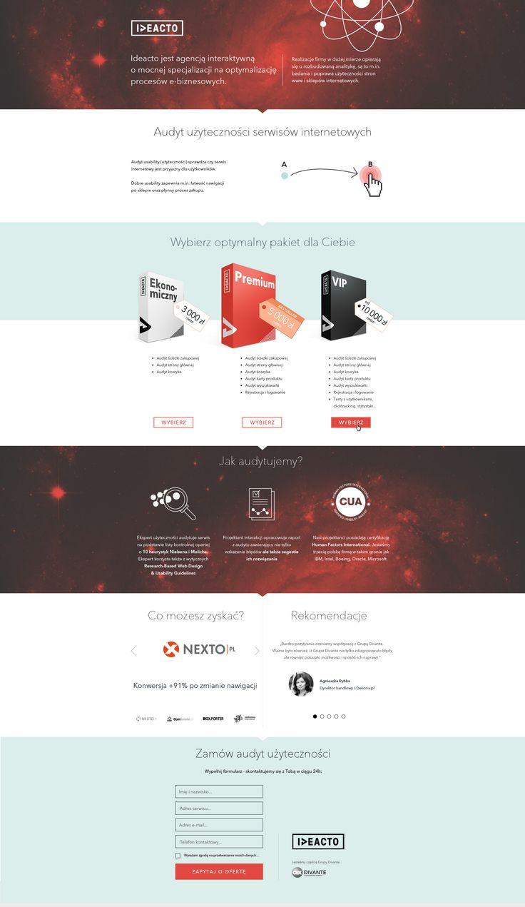 #audyty #serwisinternetowy #webdesign #ideacto