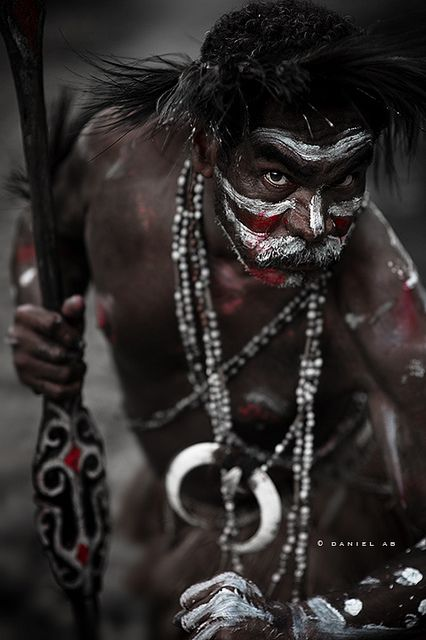 Warrior of Papua.