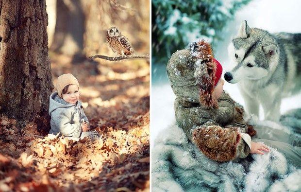 Elena Karneeva fotografie deti a zvieratiek 7