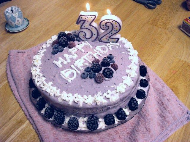 24 Pretty Image Of 32 Birthday Cake Buttercream Birthday Cake