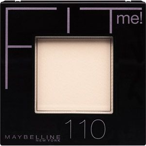 Maybelline New York Fit Me Powder 110 Porcelain dupe for Mac Emphasize