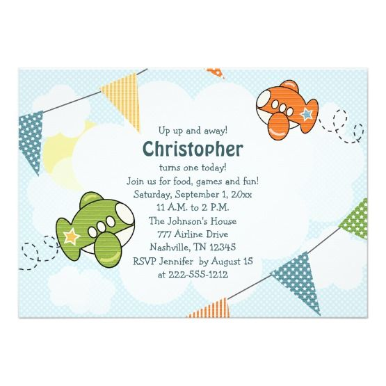 34 best birthday invites for boys images on pinterest invites shop airplane birthday invitations twins created by occasioninvitations filmwisefo Choice Image