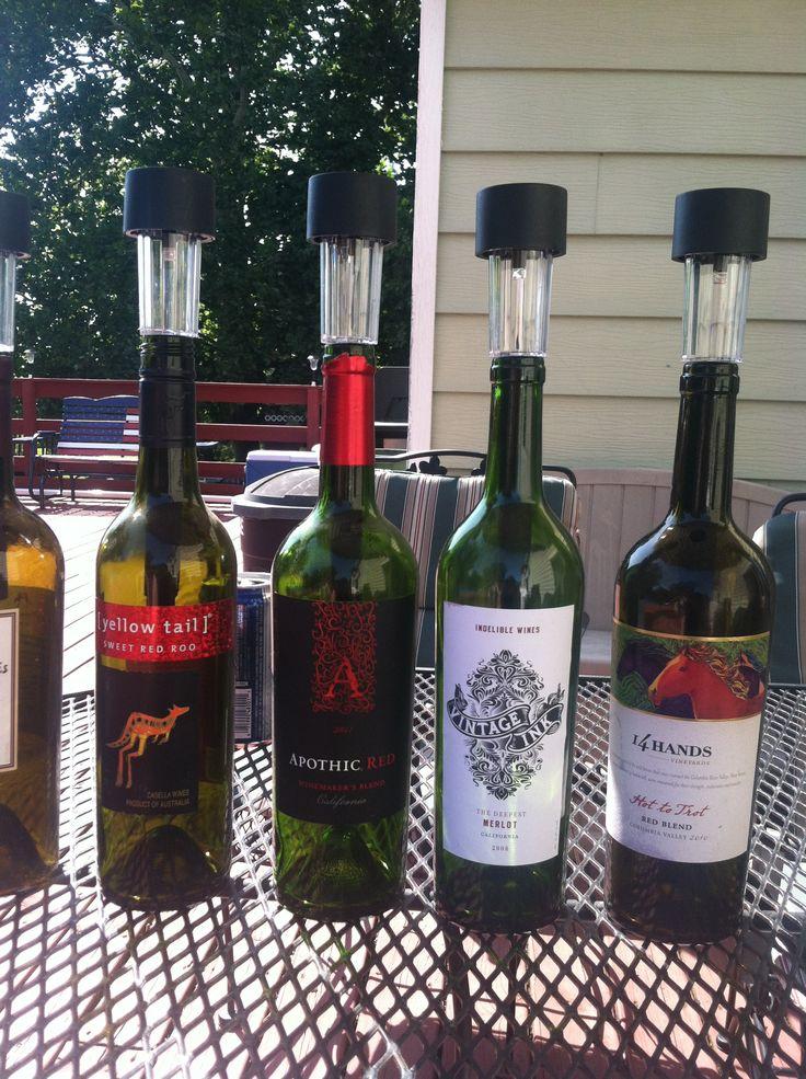 Best 25 solar deck lights ideas on pinterest outdoor for Wine bottle patio lights
