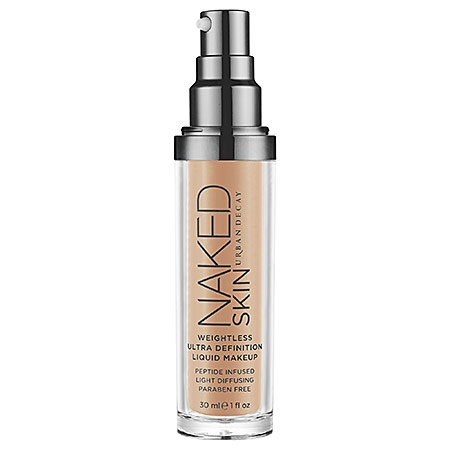 Urban Decay Naked Skin Weightless Ultra Definition Liquid Makeup: Shop Foundation | Sephora