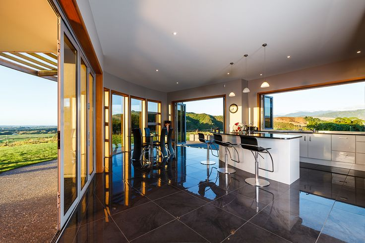 The 360 view kitchen designed by Peter Davis from AD Architecture #ADNZ #architecture #kitchen