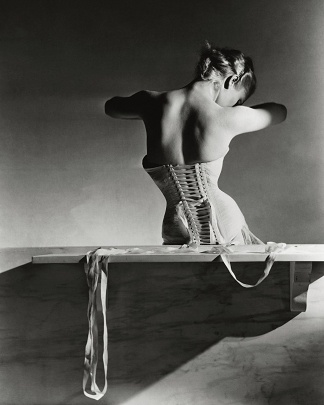 Back Of Model In Corset - Horst P. Horst