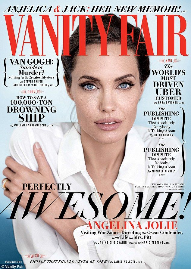 Mrs. Pitt: Angelina Jolie revealed being married to Brad Pitt 'feels different' in the new issue of Vanity Fair