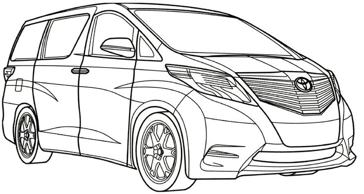 toyota coloring pages to print - photo#31