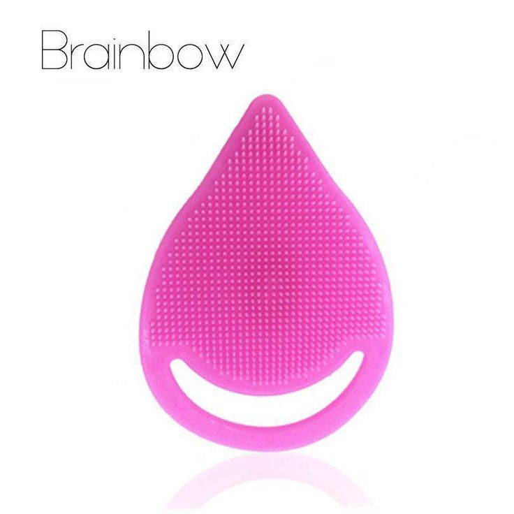 buy on wallmart.win Brainbow 1pc Beauty Nose Blackhead Removal Soft Silicone Facial Cleaner Brush Acne Treatment Face Skin Care Facial Pore…
