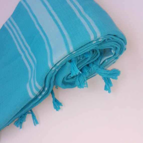 Check out this item in my Etsy shop https://www.etsy.com/listing/472633535/beach-towels-2-pcs-blue-gift-for-her