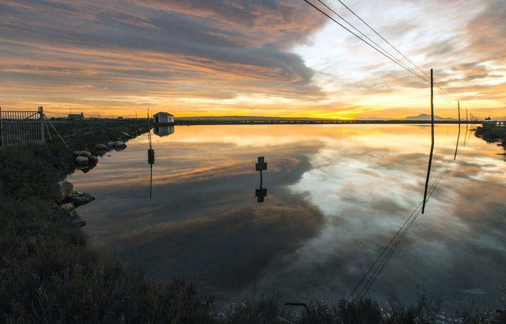 Santa Pola - Salt evaporation ponds 7Costa BlancaSpain[OC][5308x3405]
