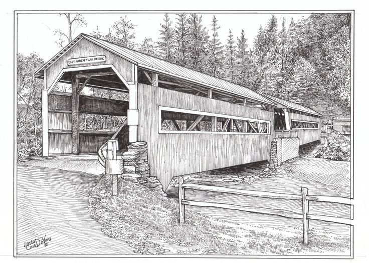 Old Farms And Cabins Drawings Google Search Coloring