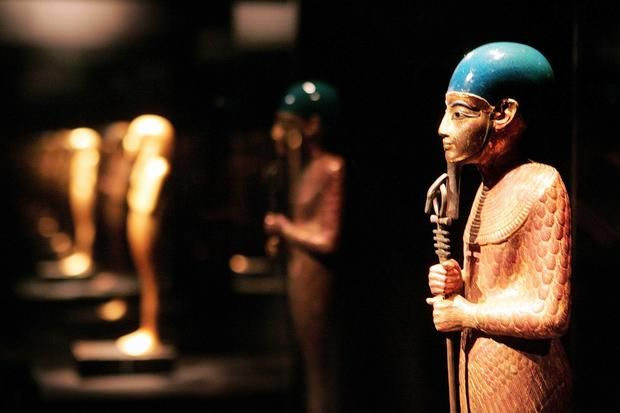 Statue of Ptah - The Creator God -15 Pharaonic Objects Buried in Tut's Tomb | Mental Floss