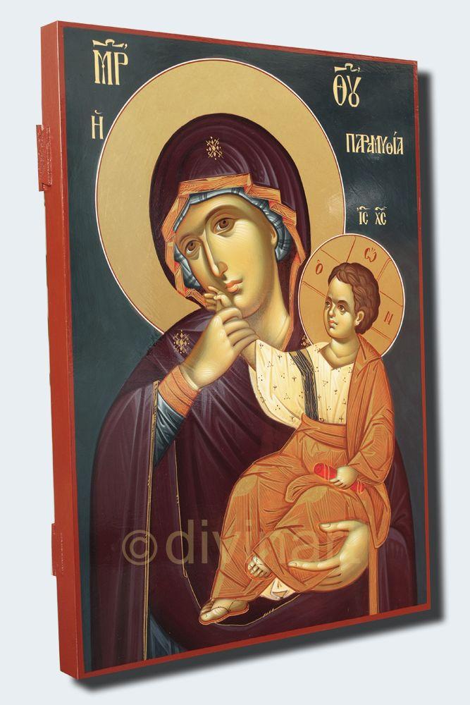 Icoana Maica Domnului Mangaietoarea 30×42 cm