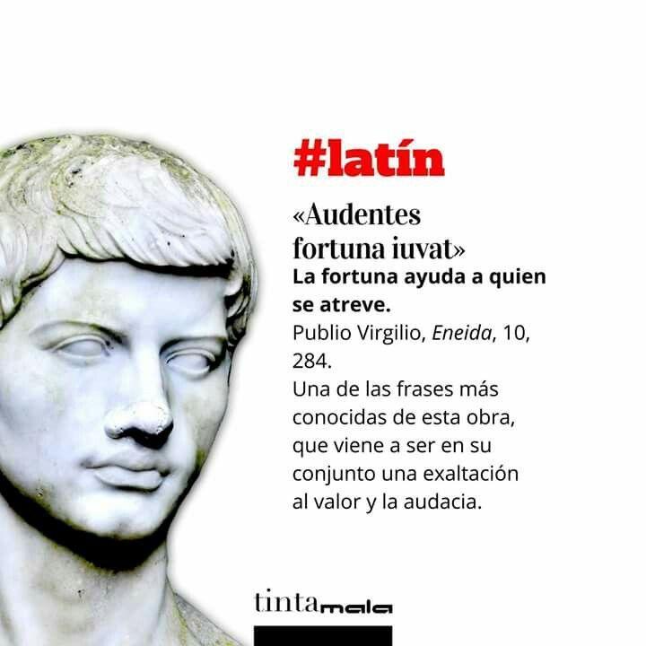 El Coaching En La Antigua Roma Los Jueves Frase En Latín Literatura Letras Leer Escribir Nosgustalaliteratura N Citas En Latin Palabras Cultas Latinas