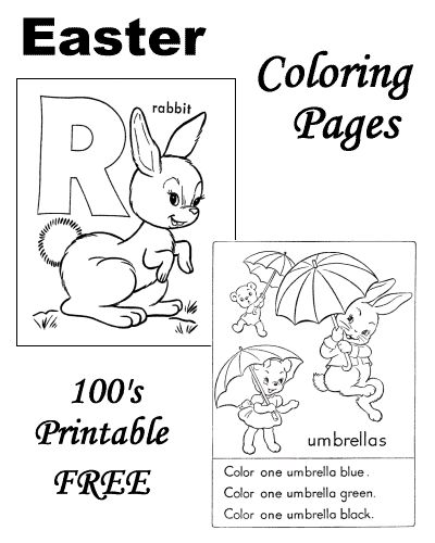 17 Best images about Easter Coloring