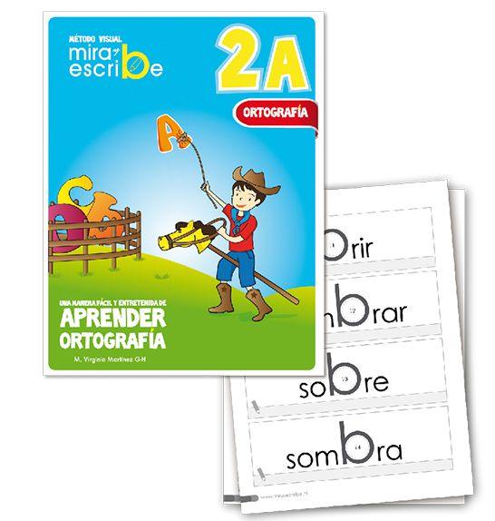 Libro Ortografía Mira Y Escribe 2 A -> http://www.masterwise.cl/productos/14-lenguaje-y-comunicacion/1916-libro-ortografia-mira-y-escribe-2-a