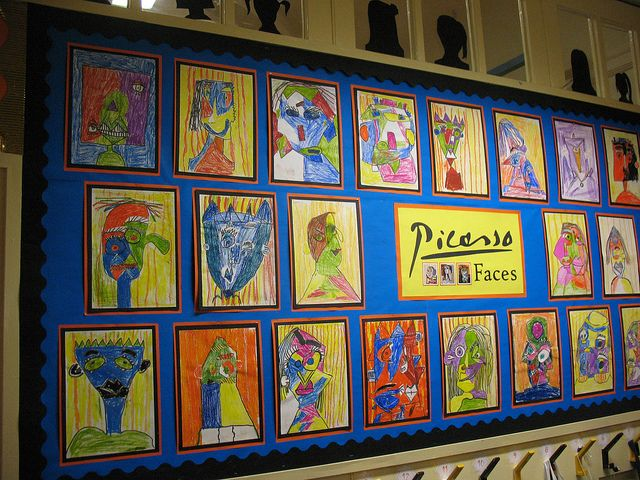 Classroom Design And Organization ~ Picasso classroom display google search teaching ideas