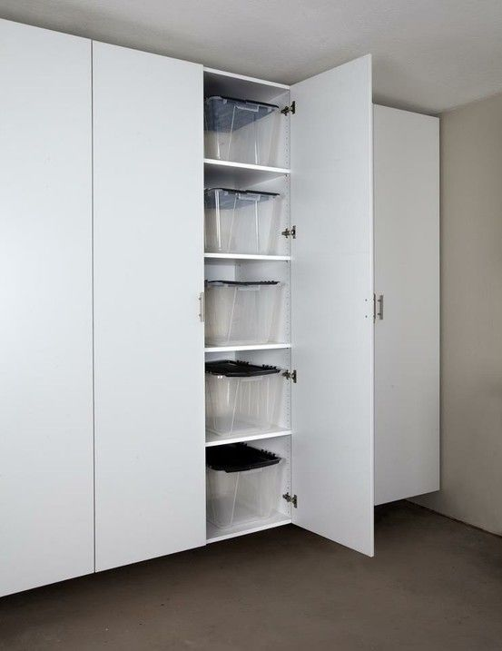 Wonderful Big Space To Store Away Big Containers · Workshop CabinetsGarage WorkshopLarge  Storage ...