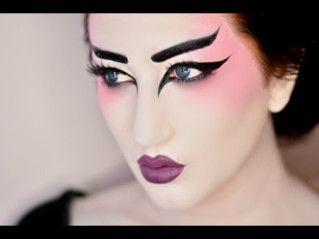 geisha makeup - Google Search                                                                                                                                                                                 More