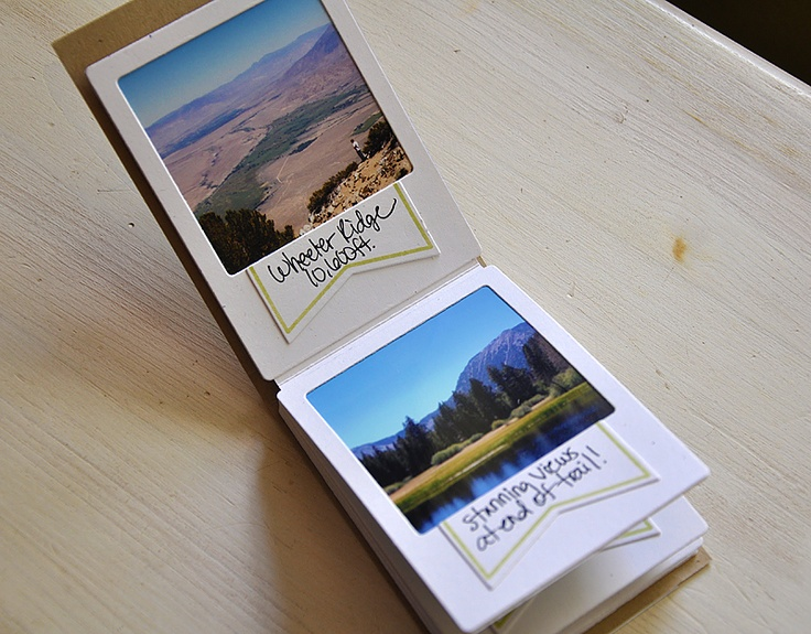 Our Adventures Mini Album by Maile Belles for Papertrey Ink (July 2012)