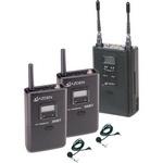 Azden 330LT UHF On-Camera Dual Bodypack System Price $699.00  x2