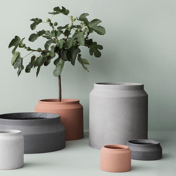 Pot Large, Light Grey - Ferm Living - Ferm Living - RoyalDesign.com