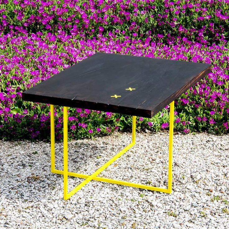ALGERI // coffee table //  #carapace #carapacedesign #design #designer #designwood #recicledwood #woodworking #recycledwood #madeinitaly #furniture #woodfurniture #ironandwood #riciclo #ecodesign #wood #moderninteriors #interior #interiordesign #handmadeinitaly #eco #greendesign #ecofriendly #sustainable #sustainabledesign #reuse #recycled #homedesign #homedecor #table #coffee #yellow #ShouSugiBan
