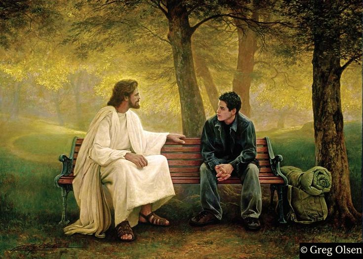 Lost and Found- by Greg Olsen. I love this painting. (No matter where we go on this journey in Life we are never alone!)