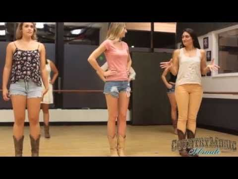 Find this video and other line dances like Slap Leather, Watermelon Crawl, Sleazy Slide, Tush Push, Cowboy Cha Cha all available on DVD from http://www.Brook...