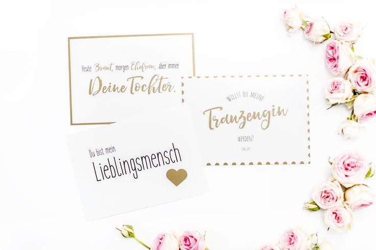 Postkarten für Ihren Liebsten designed von MARRY JANE
