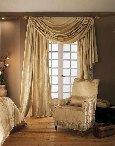1000 images about rideau on pinterest drop cloth curtains curtain rods and hanging curtains for Image decoration chambre a coucher